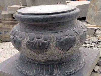 Đôn kê cột nhà bằng đá