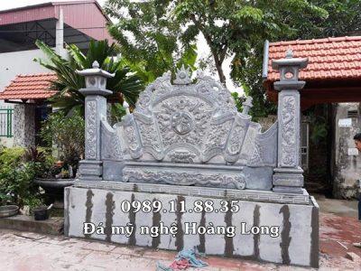 Giá bình phong đá làm tại Thái Nguyên