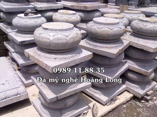 Giá đá kê chân cột nhà bằng đá
