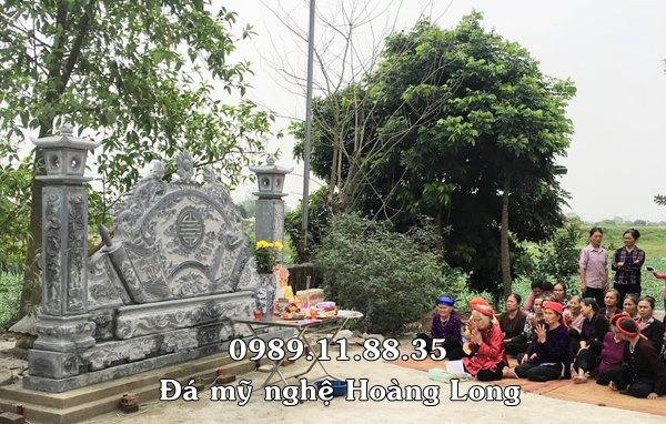 Khánh thành cuốn thư đá đình làng Nội