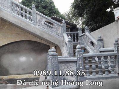 Lan can cầu thang đá