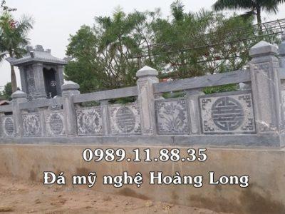 Lan can khu lăng mộ đá