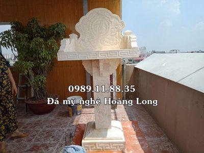Mẫu bàn thờ thiên đá tự nhiên lắp đặt tại Huế