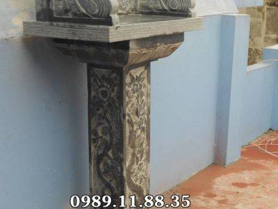 Mẫu cây hương đá lắp đặt tại Nam Định