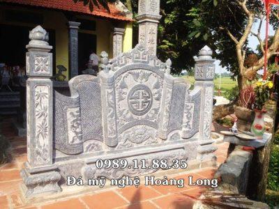 Mẫu cuốn thư đá đình chùa