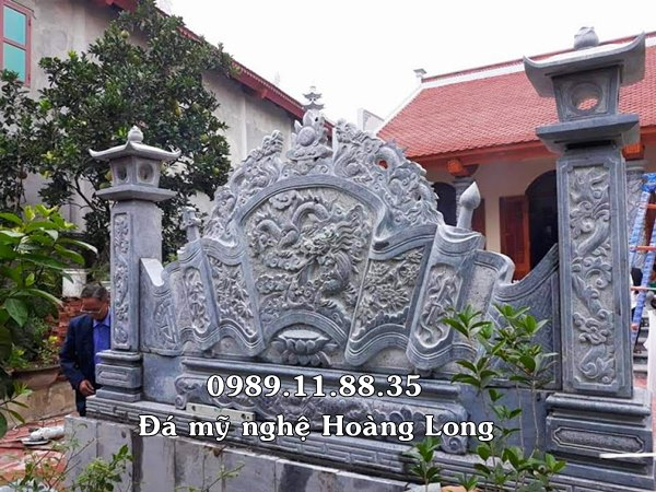 Mẫu cuốn thư nhà thờ gia tộc lắp tại Thái Nguyên