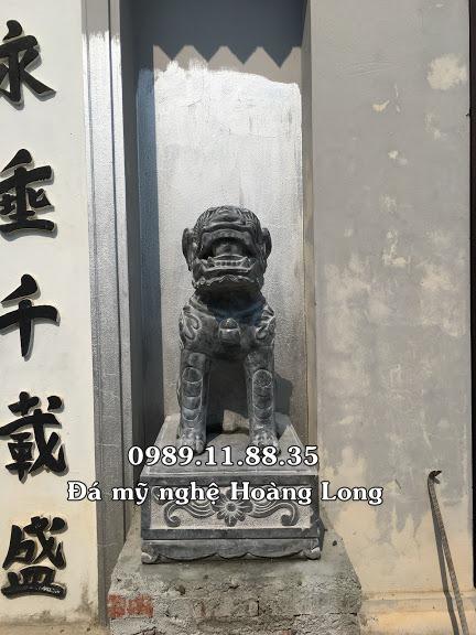 Nghê đá nhà thờ họ Vũ tại Hà Nội
