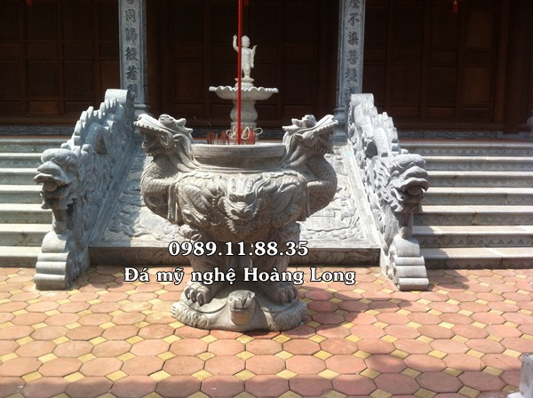 Rồng đá đình chùa