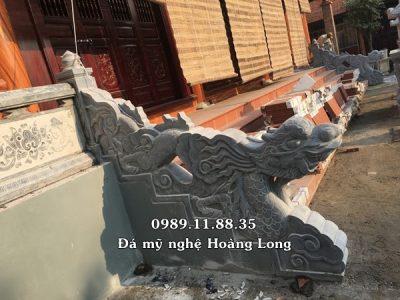 Lắp rồng đá bậc thềm tại Hà Tĩnh