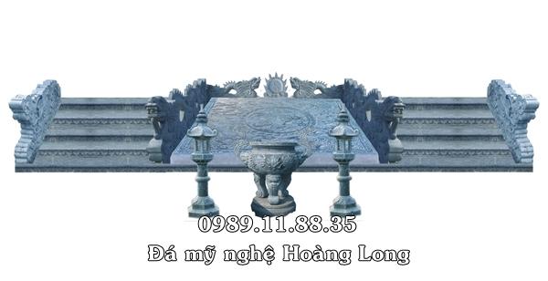 Thiết kế bậc tam cấp đình chùa
