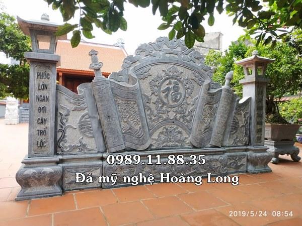 Xây dựng cuốn thư bằng đá tại Long An