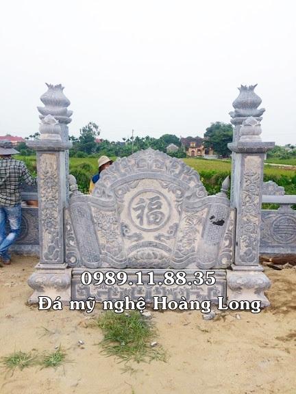 Cuốn thư đá khu lăng mộ