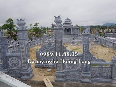 Khu lăng mộ đá gia đình tại Ninh Thuận