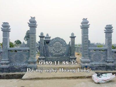 Giá làm khu lăng mộ bằng đá tại Thái Bình