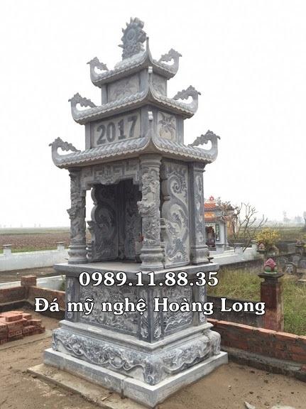 Làm long đình đá xanh tại Ninh Thuận