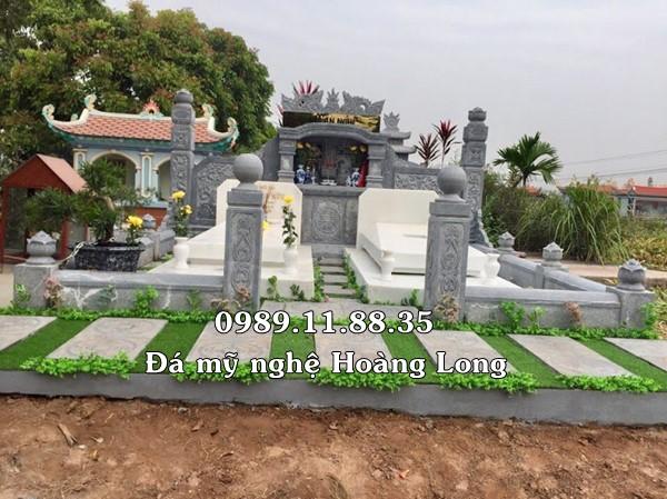 Lăng mộ gia đình bằng đá