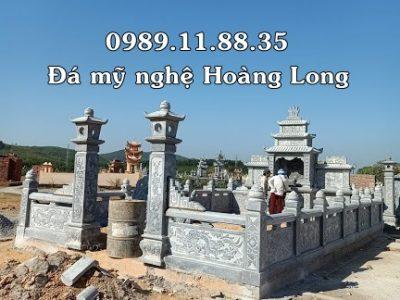 Lắp đặt khu lăng mộ đá gia đình