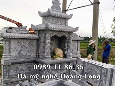 Mẫu khu lăng mộ làm tại Hưng Yên