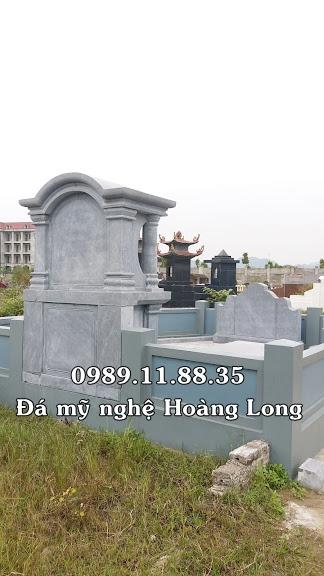 Mẫu lăng mộ làm tại Hải Dương