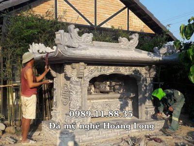 Mẫu am thờ bằng đá đẹp độc đáo