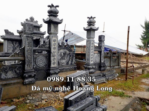 Thiết kế lăng mộ đá tại Hà Nam