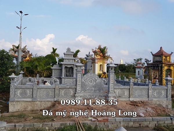 Xây dựng khu lăng mộ đá