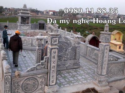 Xây dựng khu lăng mộ thờ tổ tiên tại Bình Dương
