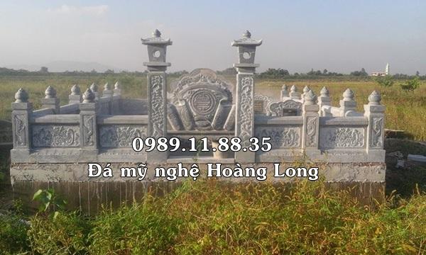 Xây dựng lăng mộ đá gia đình dòng họ