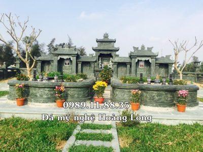 Khu lăng mộ đá gia đình tại Quảng Ninh