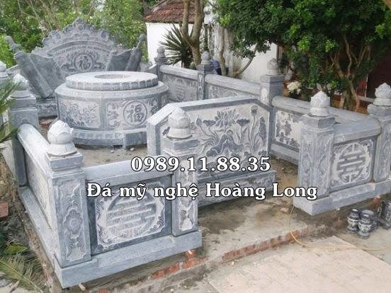 Khu lăng mộ thờ cụ tổ bằng đá