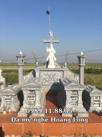 Làm mộ công giáo đá trên toàn quốc