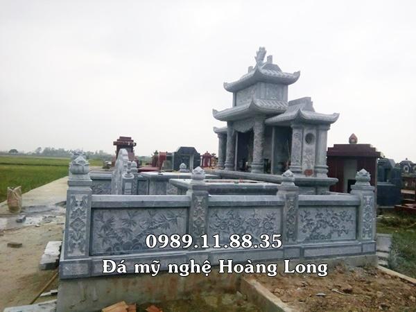 Lăng mộ đá gia đình tại Thái Bình