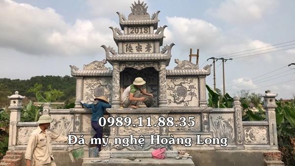 Lăng thờ chung bằng đá tại Đồng Nai