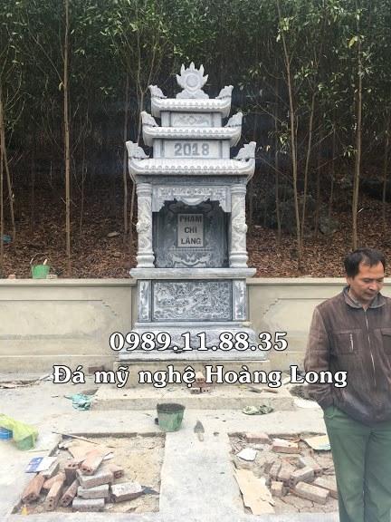 Long đình đá làm tại Tuyên Quang