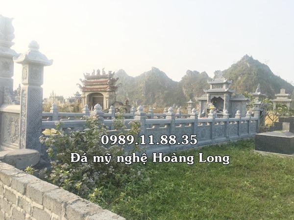 Mẫu khu lăng mộ gia đình bằng đá