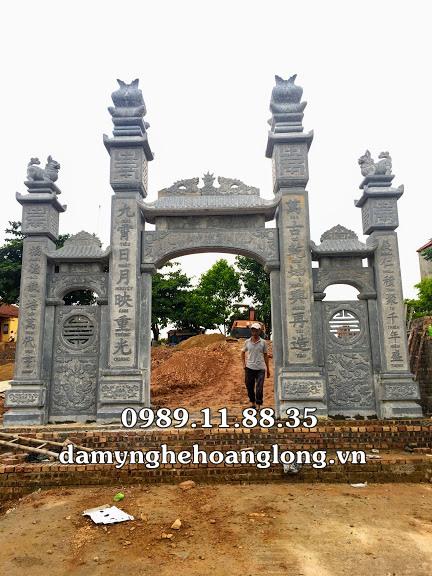 Cổng đá đình chùa đẹp nhất