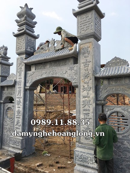 Cổng đình chùa tại Bắc Ninh