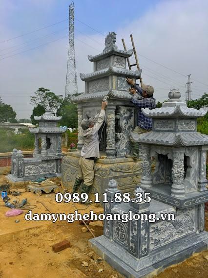 Làm lăng mộ đá gia đình tại Hà Nội