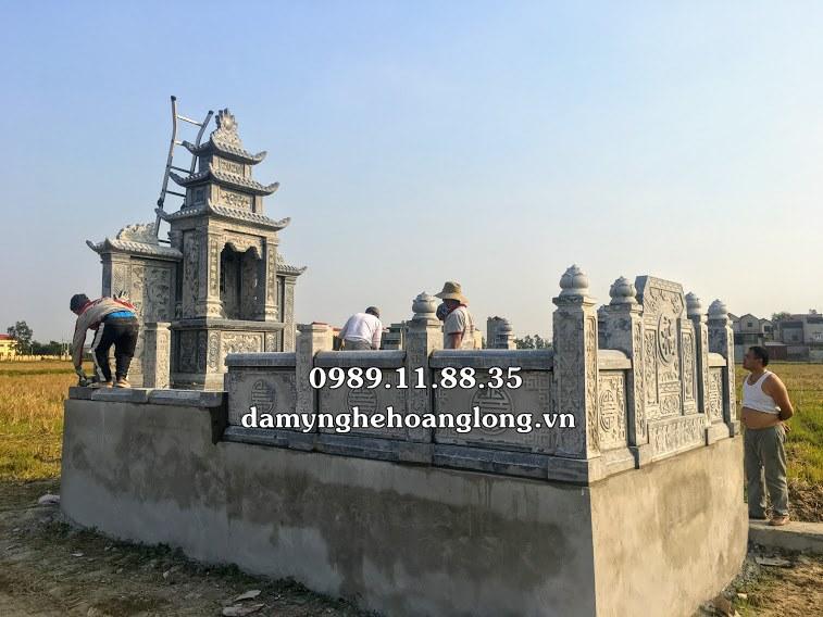 Giá lăng mộ đá làm tại Bắc Ninh