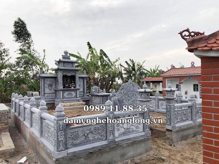 Khu lăng mộ gia đình bằng đá