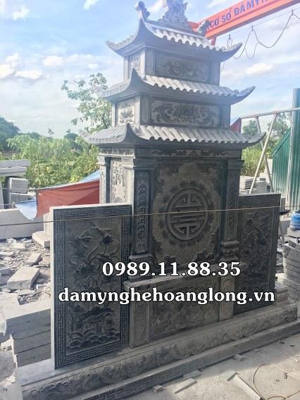 Làm lăng mộ ở Phú Thọ