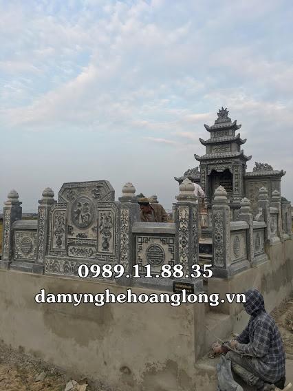 Lăng mộ đá đẹp tại Bắc Ninh