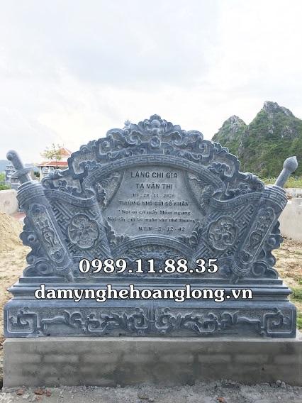 Cuốn thư đặt tại lăng mộ