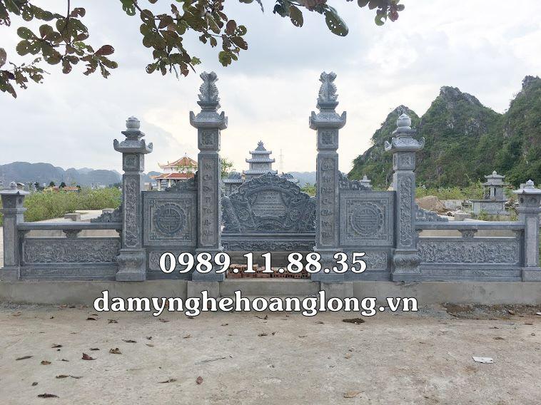 Làm lăng mộ đá tại Vĩnh Phúc