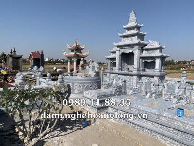Làm lăng mộ dòng họ bằng đá tại Quảng Ninh