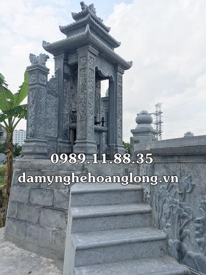 Mẫu lăng mộ tổ bằng đá