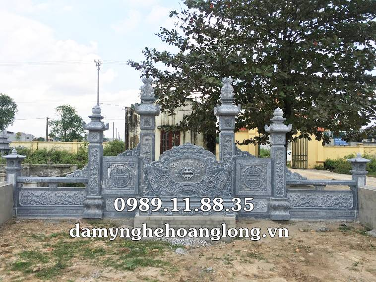 Xây dựng khu lăng mộ đá chuẩn phong thủy
