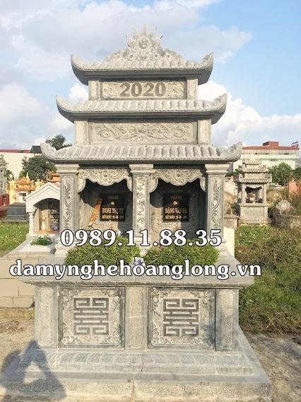 Mộ đôi đá đẹp làm tại Đà Nẵng