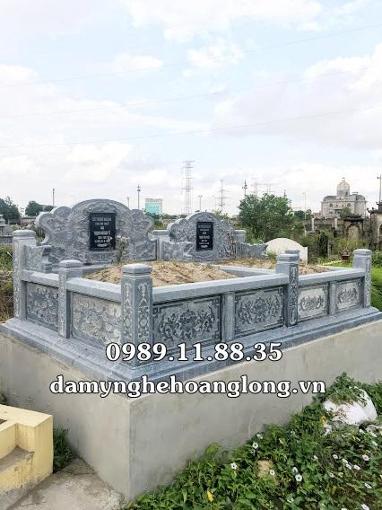 Giá làm mộ đôi bằng đá tại Quảng Nam