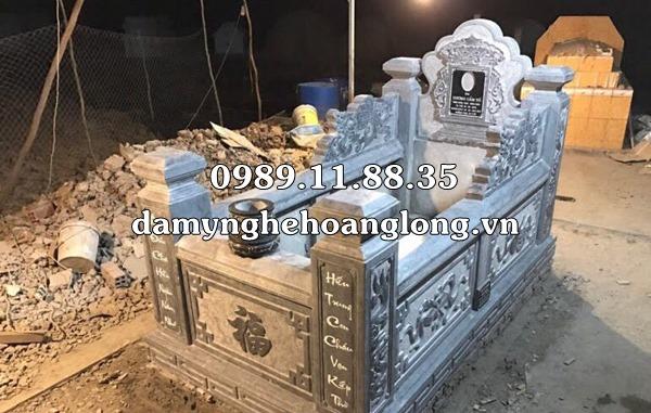 Mẫu mộ quây bằng đá